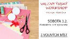 WORKSHOP Cardmaking - Valentýnka